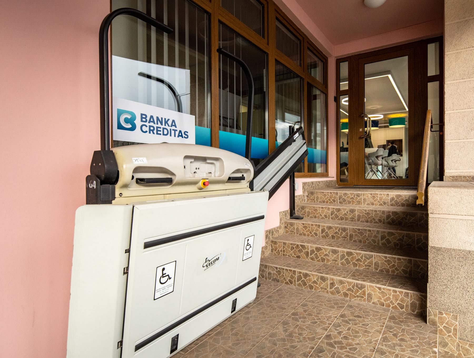Banka CREDITAS - pobočka Vsetín